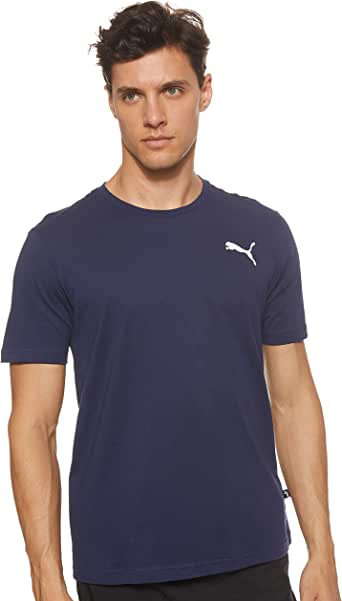 PUMA Men's ESS Small Logo Tee Peacoat