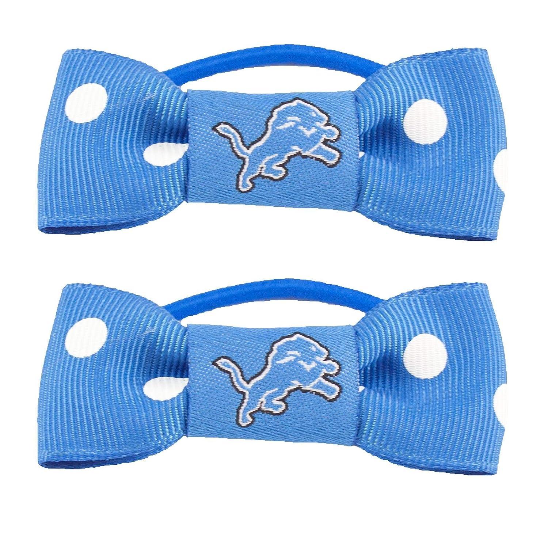 NFL Bow Pigtail Holder