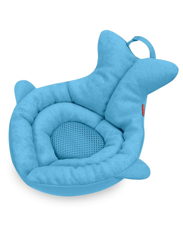 Skip Hop Baby Bath Tub: Moby Newborn Softspot Sink Bather, Blue : Baby