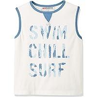 RED WAGON Boys Slogan Surf Vest