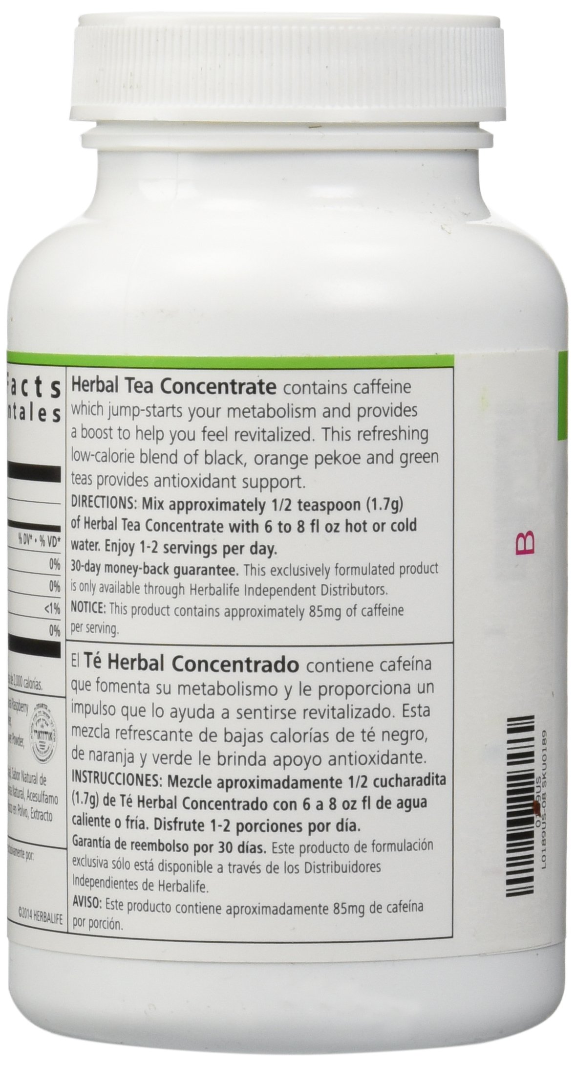 Herbalife Herbal Concentrate Tea (Raspberry Flavor 3.5oz) by Shapeworks (Image #4)