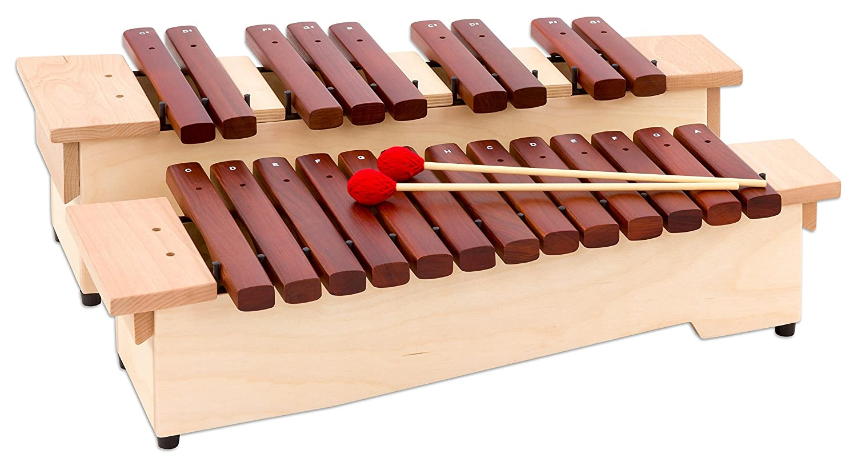 ... cromática: C2 de A3 con todos los halbtönen, incluye 2 palillo - Xilófono Concierto de orquesta Música Instrumentos Música Escuela Aprendizaje Impacto ...