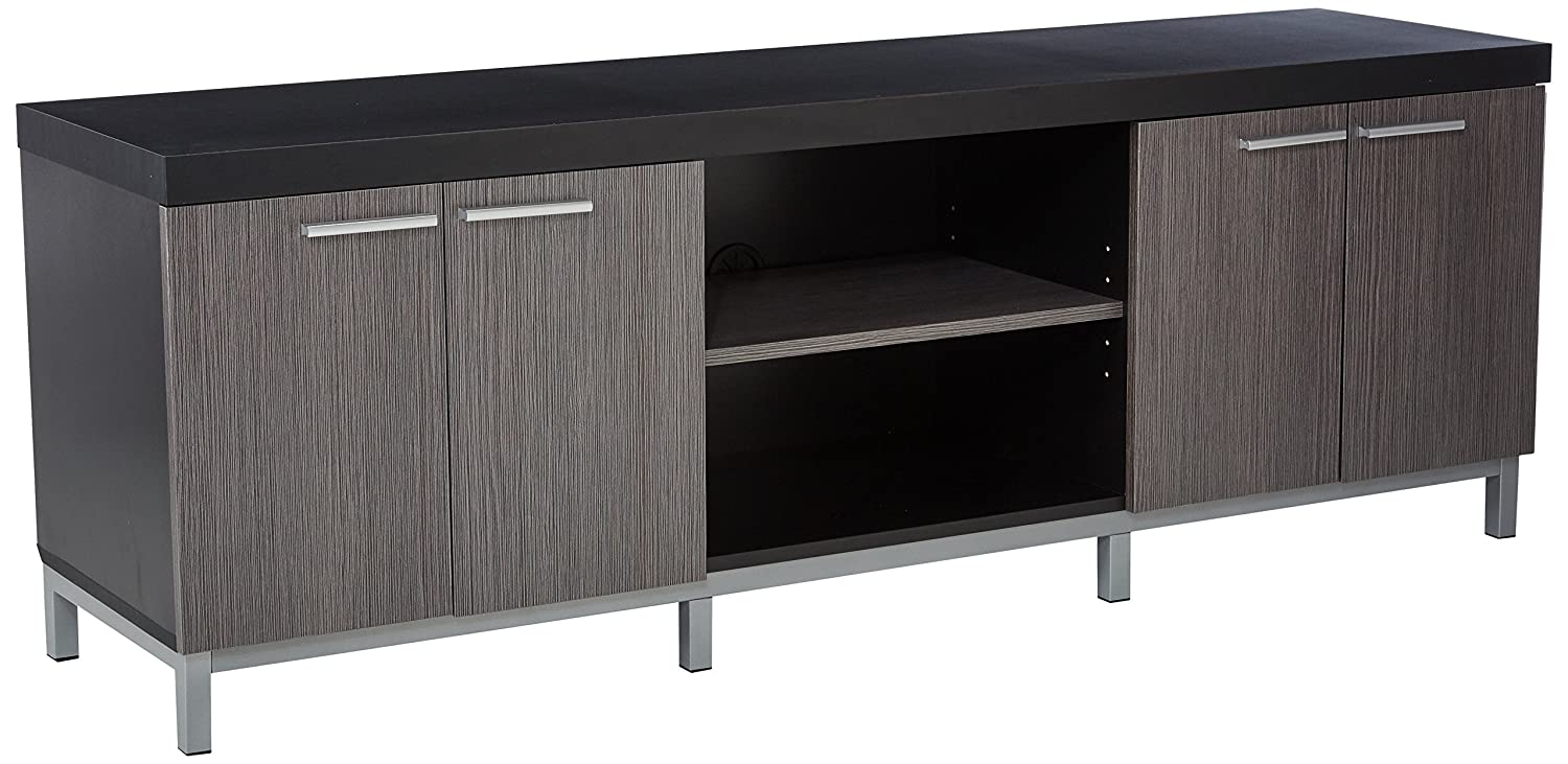 Monarch Specialties I 2592 Cappuccino TV Stand, 60' 60