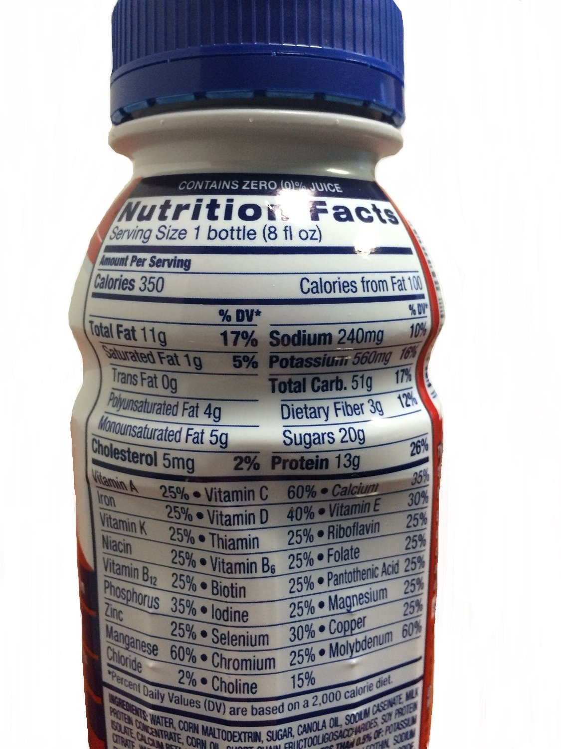 Ensure Complete (Formerly Clinical Strength) Strawberry 24/8-Fl-Oz-Bottle - 1 Case Of 24 by Abbott Nutrition (Image #2)