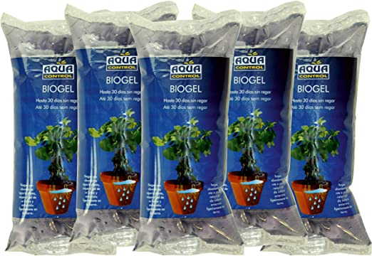 Aqua Control Biogel C21405, Agua Sólida para tus Plantas, Ideal ...