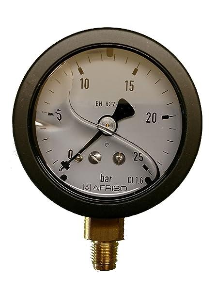 Manómetro glyzerin 1/8 50 mm 0 – 25 BAR