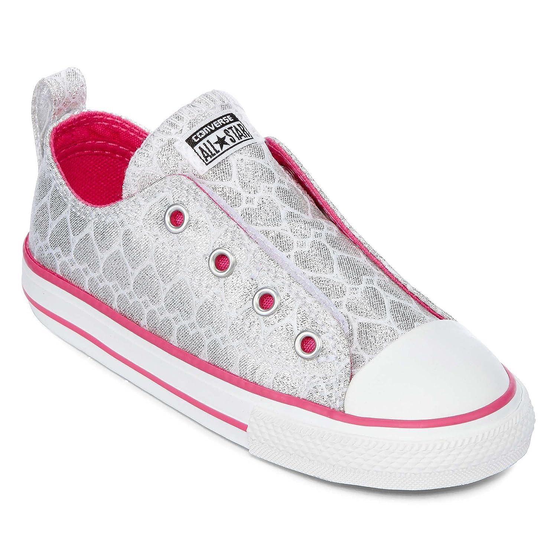 half off d0abd dcf14 Amazon.com   Converse Chuck Taylor All Star Core Slip (Little Kid)    Sneakers