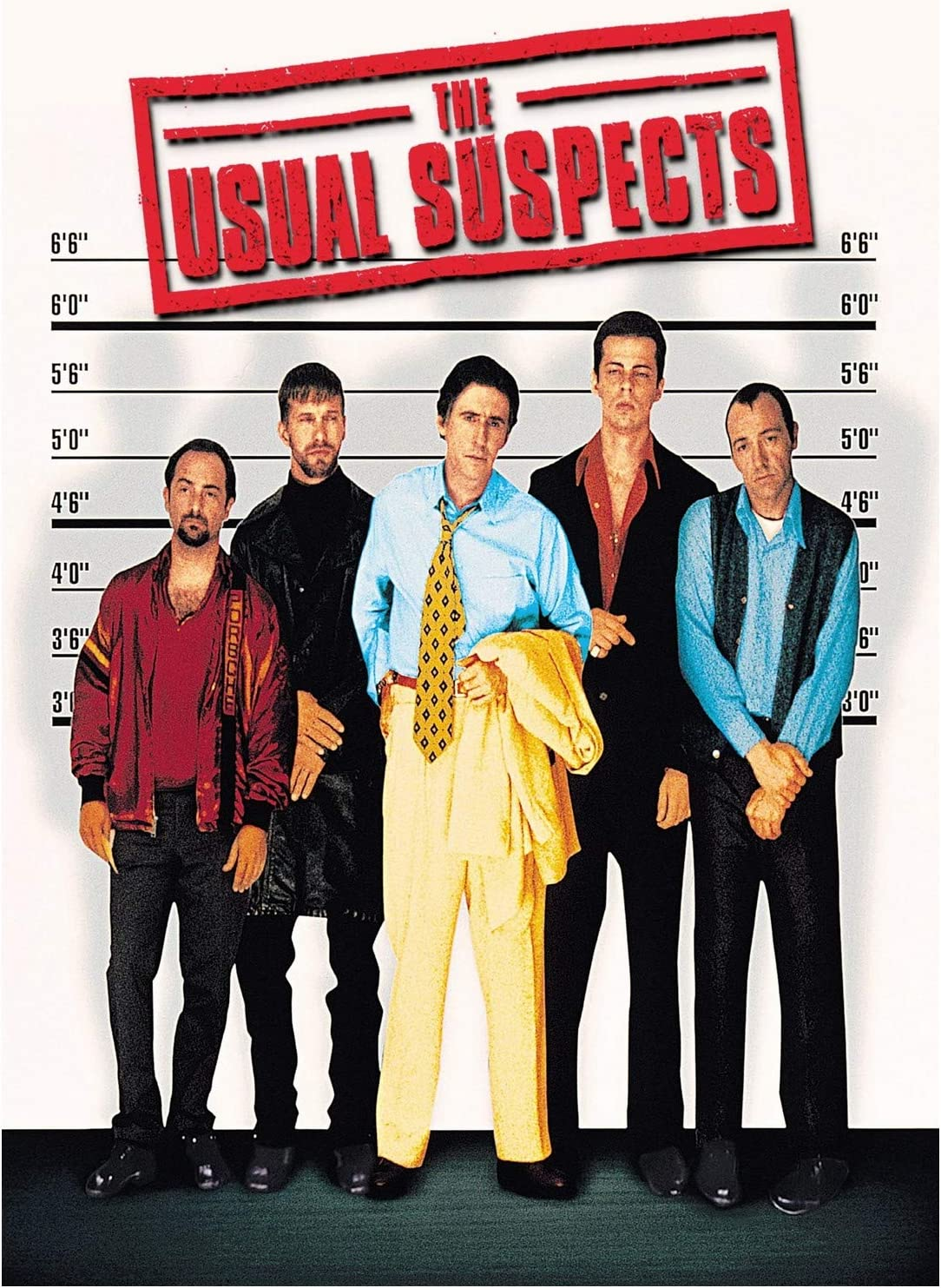 The Usual Suspects Movie Poster 24 x 36 Inches Full Sized Print Unframed Ready for Display