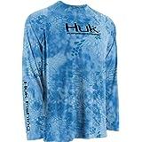 Huk Fishing Krypek Solid Raglan Long Sleeve