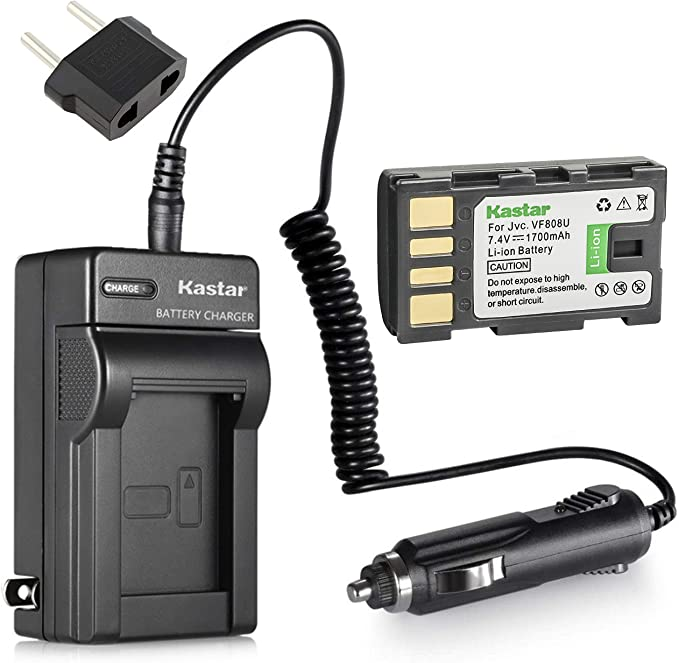 GZ-MS100U GZ-MS130U Camcorder GZ-MS100US GZ-MS101 GZ-MS100 GZ-MS120U GZ-MS120 Battery Charger for JVC Everio GZ-MS90 GZ-MS130 GZ-MS90U