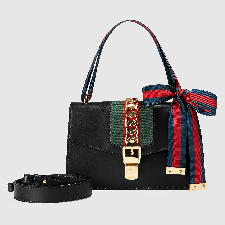 fe5db533b1d LL-GUCCI Sylvie small shoulder bag for women  Handbags  Amazon.com