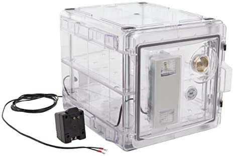 Bel-Art Secador Clear 2.0 Auto-Desiccator Cabinet; 120V, 1.2 cu. ft. (F42072-1115)