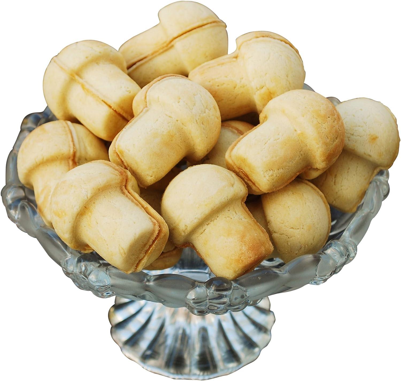 rukauf Acoplador De Seta Panadero Panadero de Forma de champi/ñ/ón Mushroom de Maker Geb/äck