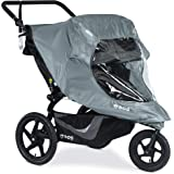 BOB Duallie Swivel Wheel Stroller Weather Shield | Water and Wind Resistant + Ventilated + Easy Install