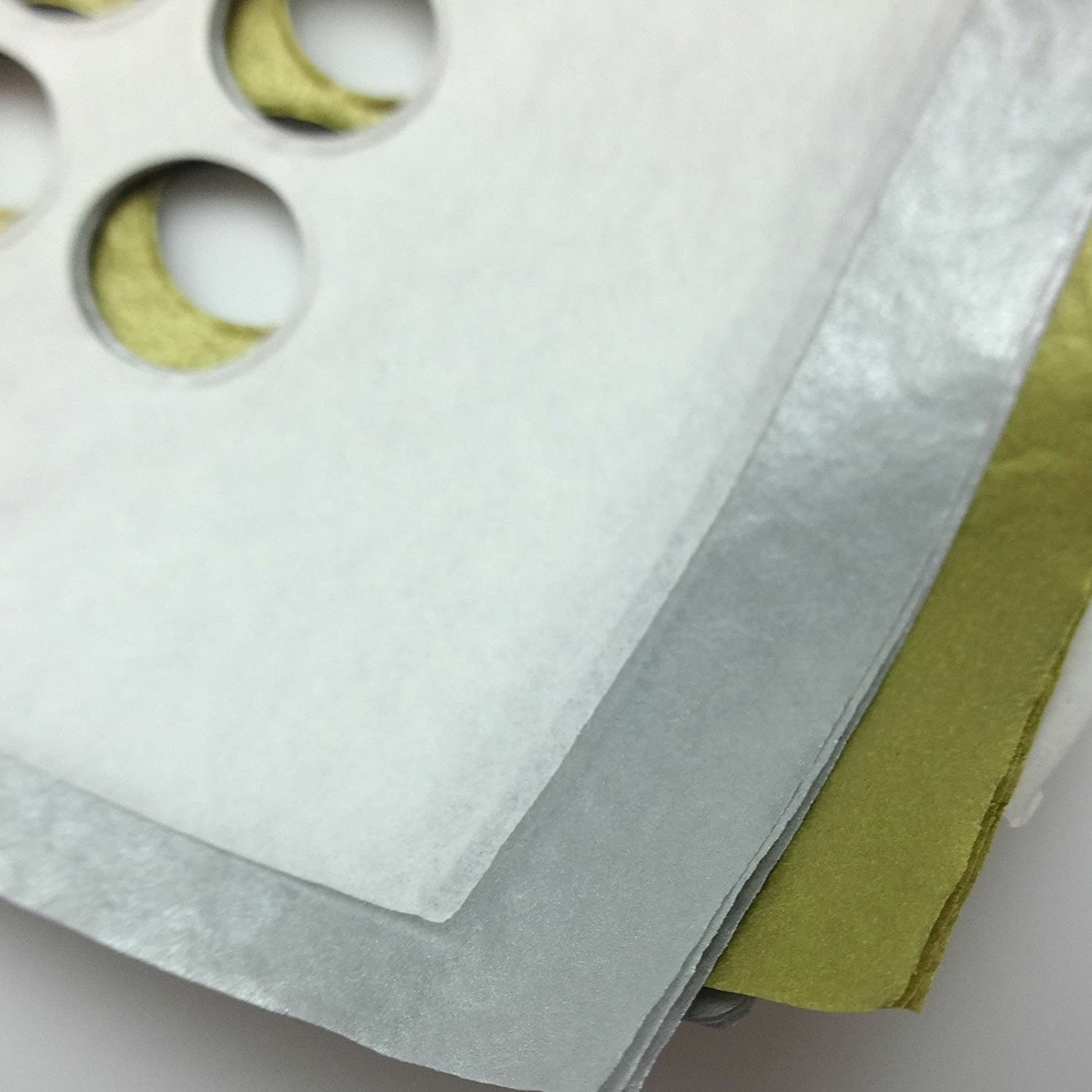 10 Sheets of Awesome Tissue Paper with Holes 1//2 Inch Holes