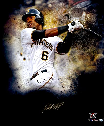detailed look 3df23 7859c Starling Marte Pittsburgh Pirates Autographed 20