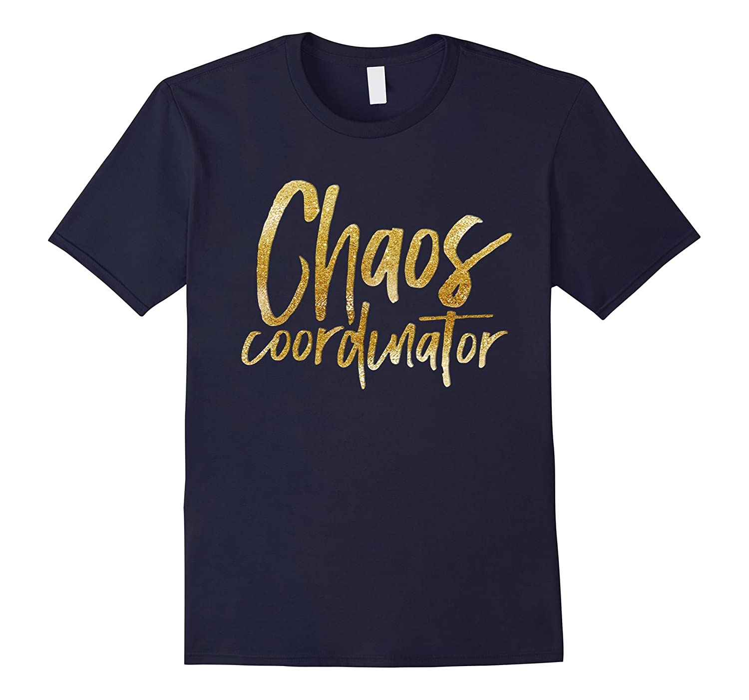 Chaos Coordinator Shirt Golden Effect T-Shirt-Vaci
