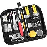 147 PCS Watch Repair Tool Kit Ohuhu Case Opener Spring Bar Tool Set Bonus -A Hammer