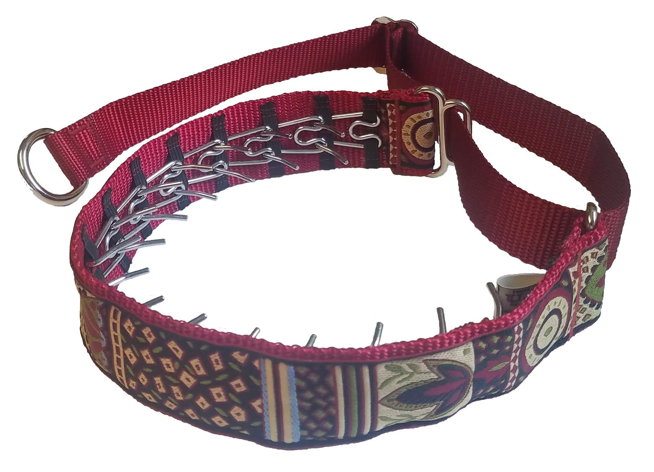 Lola's Limited Secret Powers Training Collar (2.3 mm, 14 prongs; Short Fur, 23''-28'' Neck) (2.3mm, 14prong, 2X-Large, Lime Bullseye on Purple)