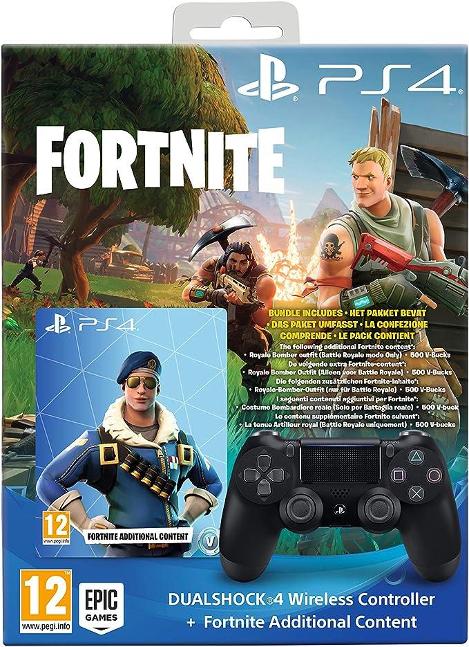 Sony DUALSHOCK 4 Fortnite Bundle Gamepad Playstation 4 Negro ...