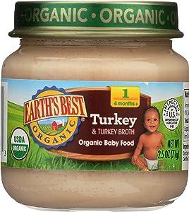 Earth's Best Turkey & Turkey Broth Organic, 2.5 oz