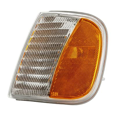TYC 18-3372-61-1 Compatible with Ford Front Left Replacement Side Marker Light: Automotive