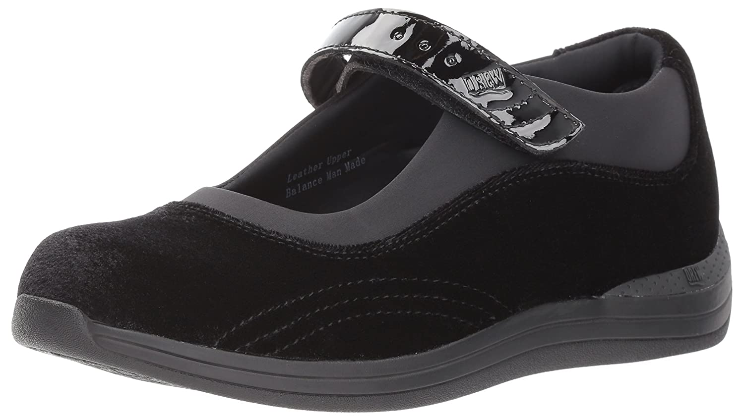 Drew Shoe Women's US|Black Rose Mary Jane B073ZNLTR2 8.5 XW US|Black Women's Velvet Patent 8770fd