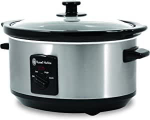 Russell Hobbs Slow Cooker 3.5L, Silver