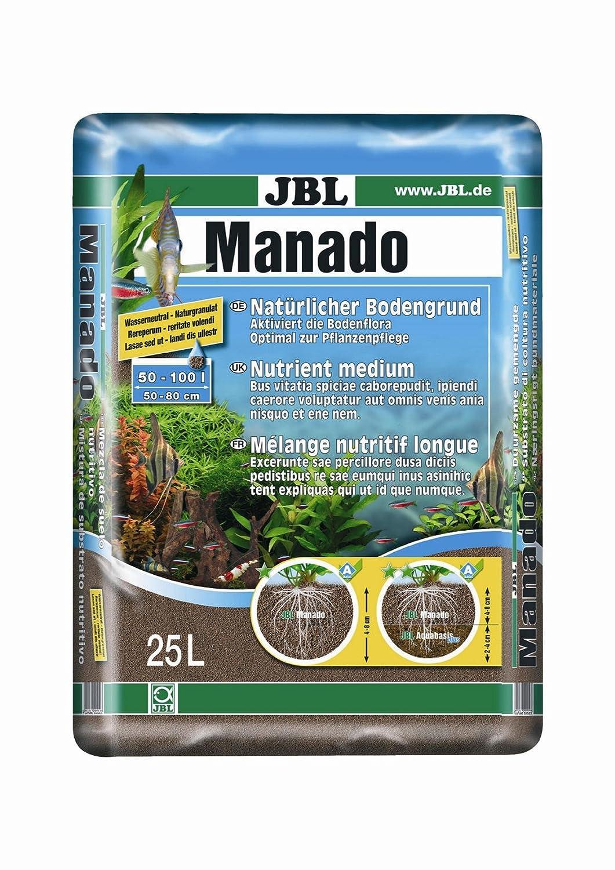 JBL Manado 25l - Substrat de sol naturel pour aquariums d'eau douce 6702500