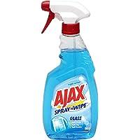 Ajax Spray n Wipe Spray'N'Wipe Cleaning Spray, Glass, 500ml
