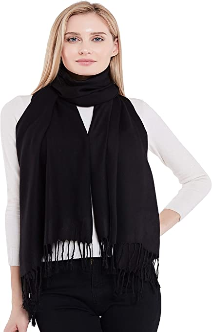 CJ Apparel Brown Solid Colour Design Shawl Seconds Scarf Wrap Stole Throw Head Wrap Face Cover Pashmina NEW