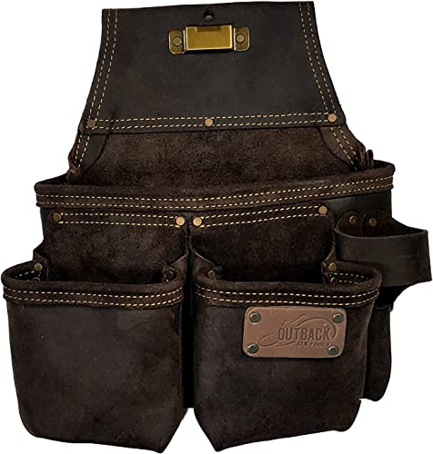 OX Tools Framer s Tool Bag Oil-Tanned Leather