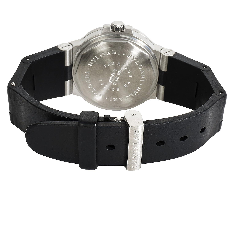Bulgari Diagono SD 38 S montre pour homme en acier