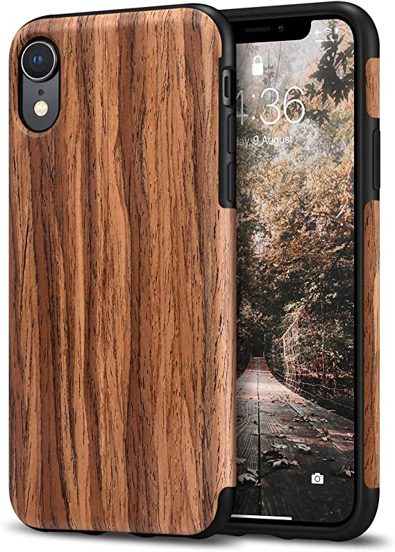 Tasikar Kompatibel Mit Iphone Xr Hülle Holz Design Elektronik