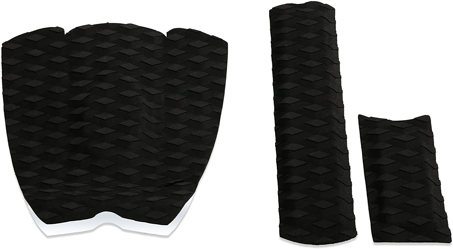 for Ultimate Grip on Skim Boards 3 Piece Stomp Track Pad for Skimboarding with Stickiest 3M Adhesive Punt Surf Skimboard Traction Pad /& Arch Bar