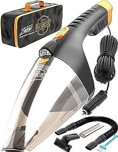 Heavy Duty Portable Cordless Car Vacuum Powerful Auto Cleaner