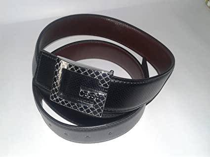 47537c6b7d8b3 STYLISH GUCCI BELT FOR MEN WITH DIAMOND G BUCKLE  Amazon.in  Bags ...