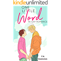 One Little Word: YA M/M Romance (One More Thing Book 1) book cover
