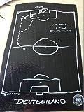 DFB Strandlaken schwarz Größe 70x140cm 100%Baumwolle Offizielles Product des DFB