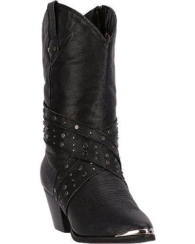 Women's Hypnotic Fringe Cowgirl Boot Round Toe - Di7451