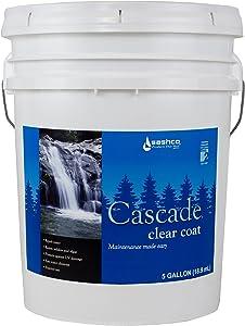Sashco Cascade Clear Coat 5 Gallon Pail