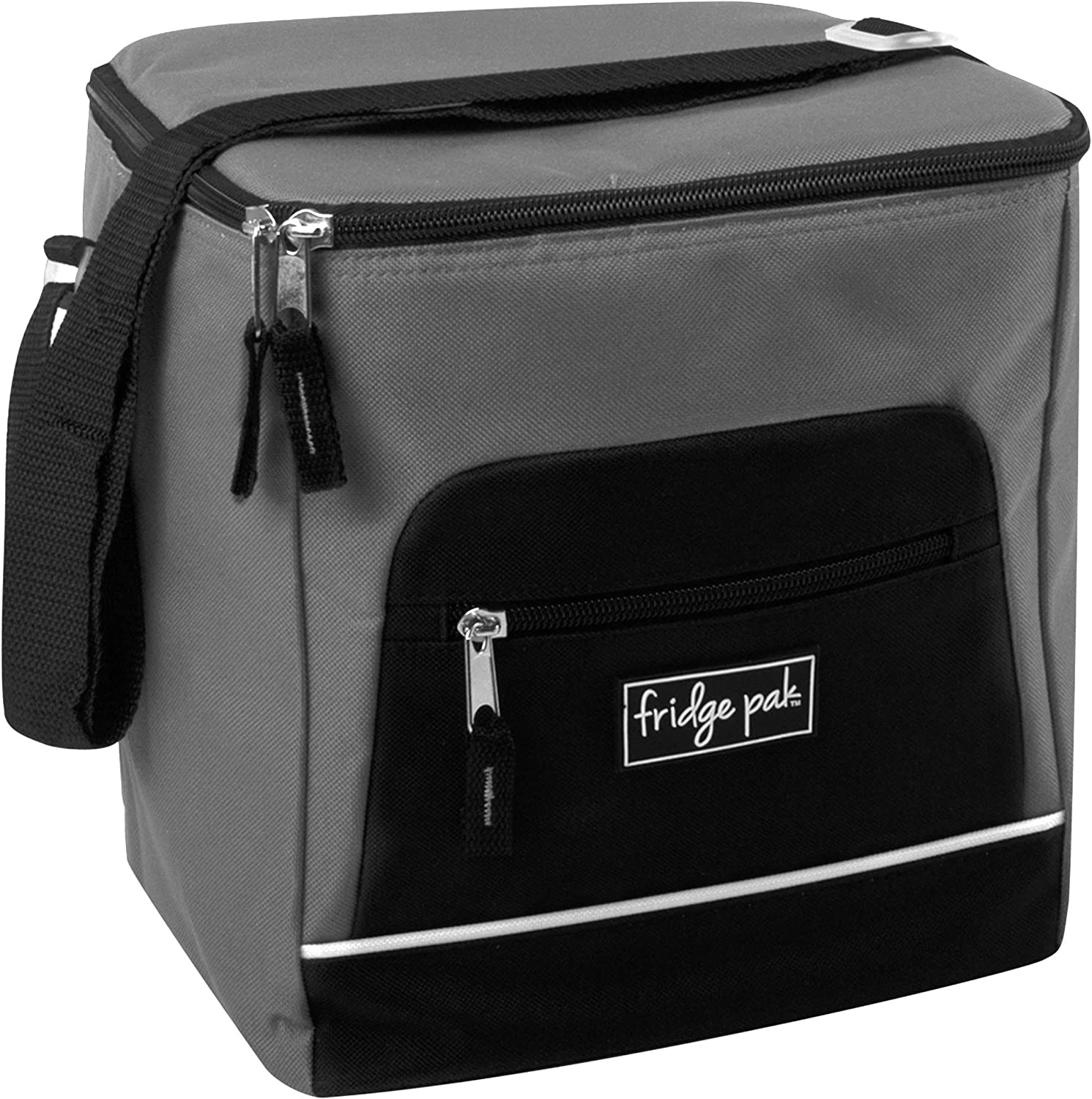 Red Fridge Pak Insulated 18 Can Large Capacity Insulated Cooler Bag and Extra Large Adult Lunchbox