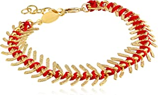 product image for a.v. max Fishbone Cord Bracelet