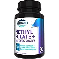 Double Strength & Most Bioactive Methyl Folate! Uniquely Formulated with Highest...