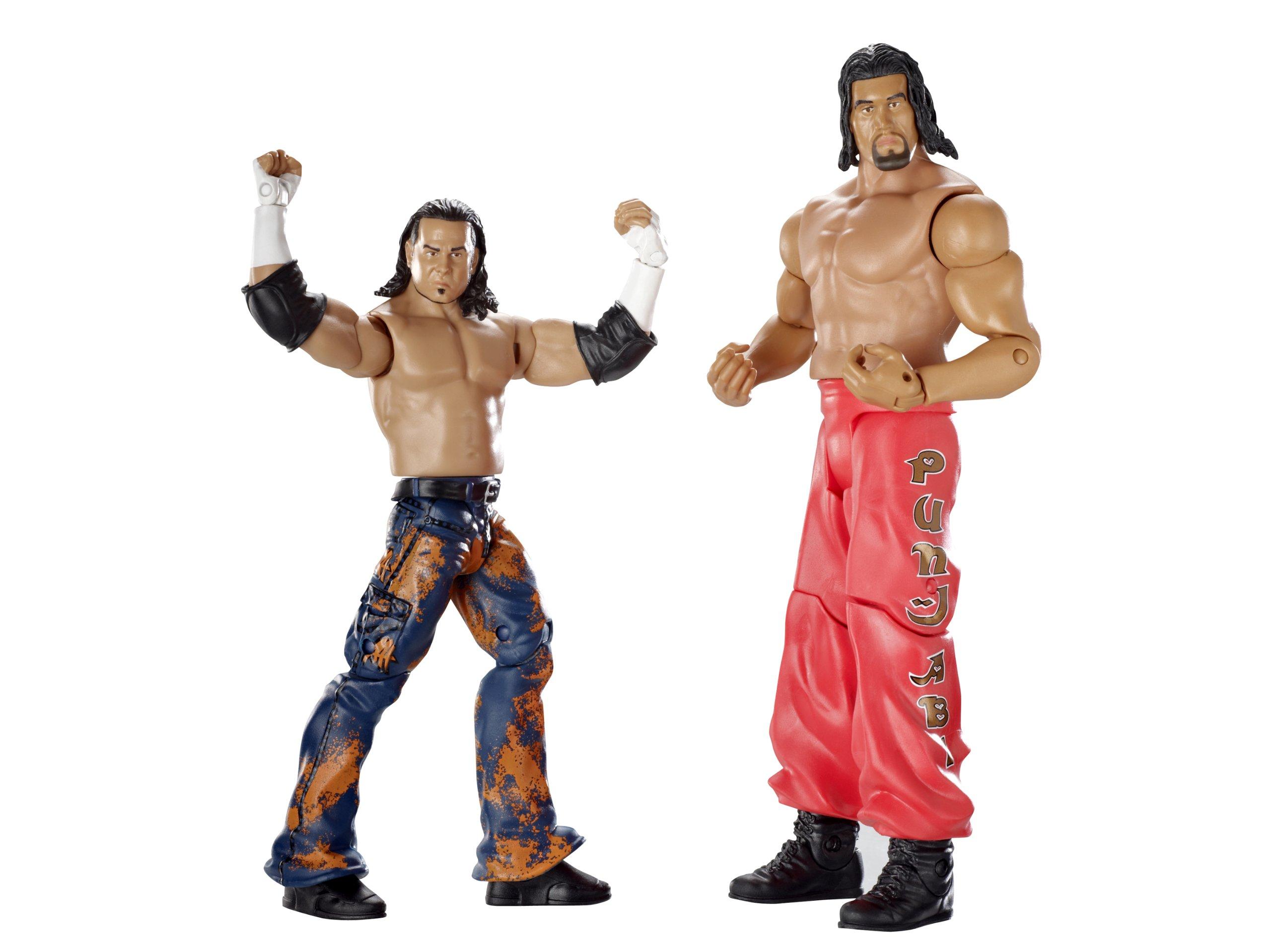 WWE Supreme Teams Matt Hardy and Great Khali Figure 2-Pack Series #8 by Mattel
