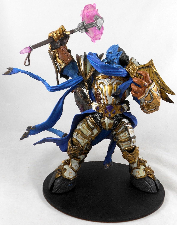 WOW World of Warcraft Draenei Paladin Vindicator Maraad Figure Figurine IN BOX