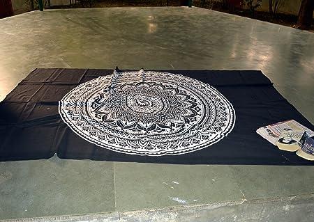 Marusthali Mandala india Ombre - Sábana de yoga para picnic ...