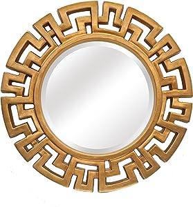 SBC Decor Athena Round Wall Mirror, 30 1/2