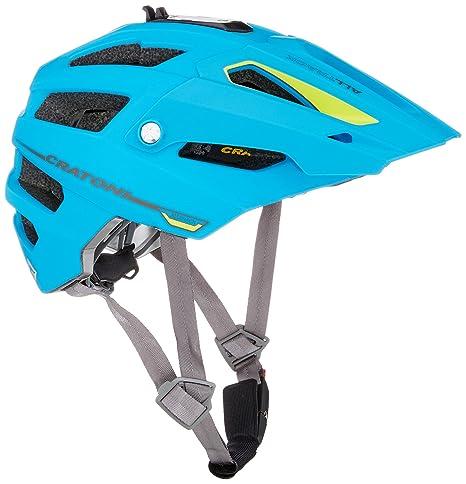 cratoni alltrack  Cratoni AllTrack Fahrradhelm // Blau/Lime gummiert: : Sport ...
