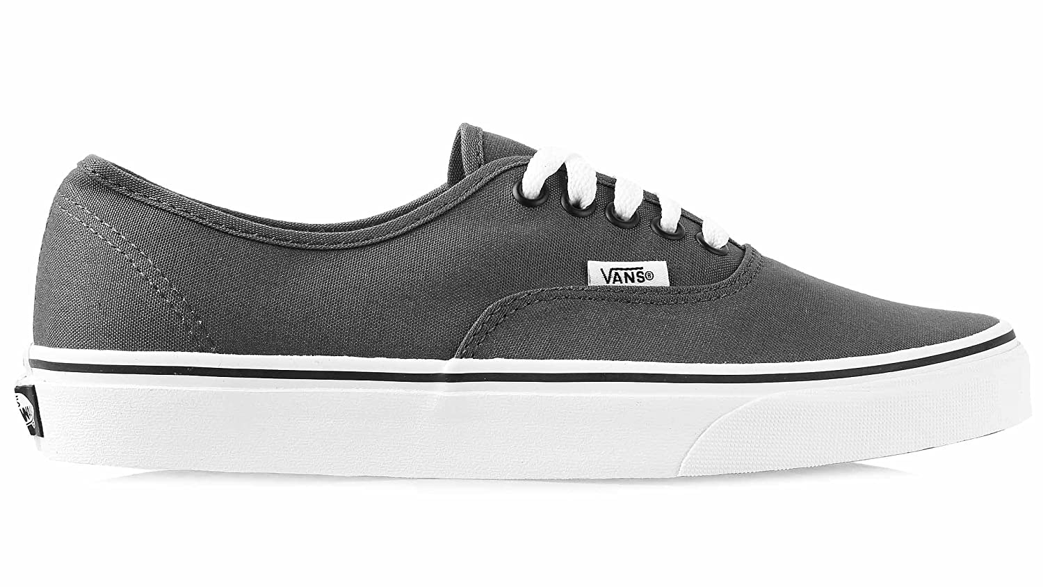 Vans Authentic Unisex Skate Trainers Shoes B01MCXWQOQ 7.5 M US Women / 6 M US Men|Pewter/Black